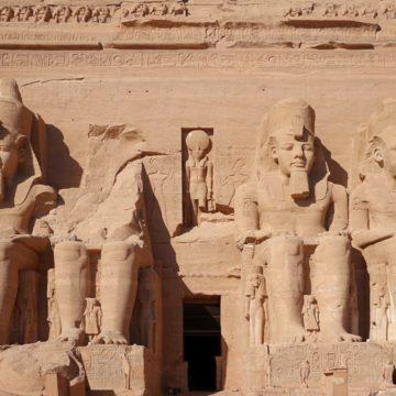 Abu Simbel w Egipcie