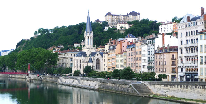 Lyon – między Saoną a Rodanem