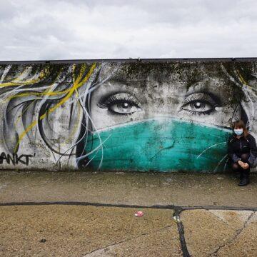Street art w czasie zarazy